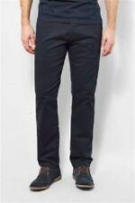 Pantalones de hombre negro chinos 100% algodón