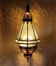 Linterna Oriental Marruecos Lámpara Colgante de Techo Manara Vaso Leche