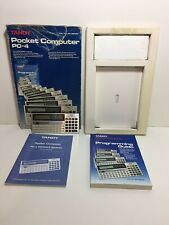 Tandy Pocket Computer PC-4 Radio Shack TRS-80 Boxed TESTED