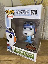 Funko Pop Vinilo animación Peanuts Snoopy Astronauta! en Azul Suit #675 Exclusivo