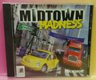 Midtown Madness Racing Cd Rom Pc Computer Game 1 Owner! Tested / Working !
