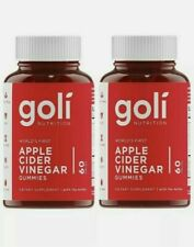Apple Cider Vinegar Gummy Vitamins by Goli Nutrition - 2 Pack - 120 ct