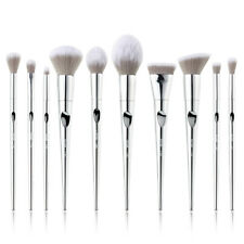 UK Jessup Beauty Makeup Brushes Set Foundation Powder Eyeshadow Blush Lip 10Pcs