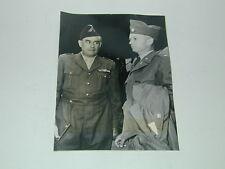 MILITAIRES GUERRE INDOCHINE Français Américain Haiphong 1953 photo photographie