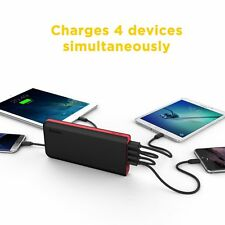 EasyAcc 20000mAh Power Bank (4A Input 4.8A Smart Output) External Battery Pack