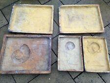 Large Rubber - Ammonite/Fossil - Concrete/Plaster Moulds - Various Sizes