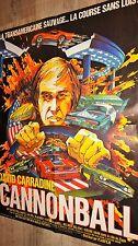 CANNONBALL !   affiche cinema course automobile cars f1