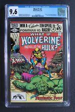 WHAT IF? #31 DEATH of HULK Magneto WOLVERINE 1982 Fantastic Four MCU TV CGC 9.6