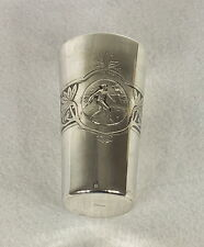 Lazarus Posen 800 SILVER GERMAN GILT LINED TENNIS TROPHY VASE CUP C. 1910