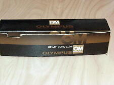 OLYMPUS OM RELAY CORD 1.2m FOR MOTOR DRIVE 1/2 NEW IN BOX