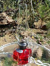 Lamplight Farms Lamp Rare Average Globe Clear Glass Vintage