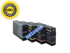 IM KIT 4 CARTUCCE COMPATIBILE PER WorkForce Pro WP-4095 WP-4515 T7011-T7014