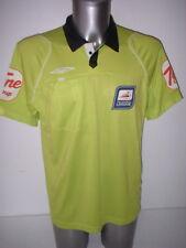 Árbitro Verde Lima Liga de Fútbol Camisa Jersey L BNWOT Fútbol Umbro