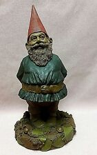 """Tom Clark 14"""" Tall Forest Gnome '91 #5151 April 1991 Ed #45 Coa ~ 3rd Rendition"""