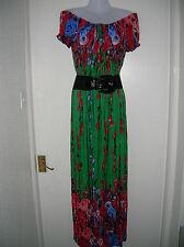 Vestido de verano nuevo con etiquetas Maxi señoras de 18 20 Fiesta Navideña nocturnas grande XXL