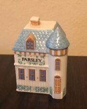 Lenox Spice Village House Parsley 1989 Lenox Trinket Box Handcrafted Porcelain