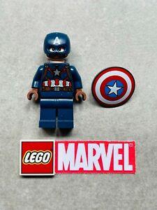 Genuine LEGO Minifigure - Marvel Super Heroes - Captain America - sh736