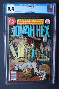 JONAH HEX #1 SOLO Fleisher López DC 1977 Movie TV Legends Tomorrow CGC NM 9.4