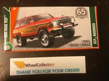 Jeep Wagoneer * RED * Power Grabs * 2018 Matchbox Case D
