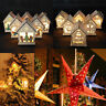 Christmas String Hanging Star Party Home Window Decoration Xmas Tree Ornaments