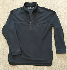 GORGEOUS ROHAN UPLAND MICROFLEECE FLEECE TOP GUNMETAL S SMALL  SHIRT JACKET