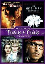 The Bride / Ghost Rider / The Mothman Prophecies / Secret Window [DVD] NEW!