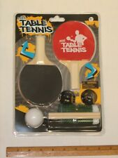 Mini Table Top Tennis Ping Pong Game Set Classic Tabletop Game
