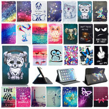 """US For 9.7"""" 10"""" 10.1"""" inch Tablet 2017 Universal Print Leather Stand Case Cover"""