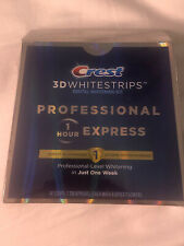 New Crest 3D WHITESTRIPS PROFESSIONAL 1 HOUR EXPRESS EXP 2022