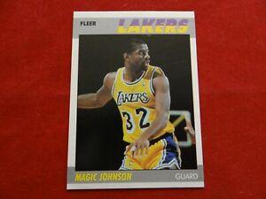 💥 1987-88 Fleer Basketball MAGIC JOHNSON #56 HOF LEGEND!!💥 GP
