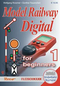 Roco 81391 Handbuch Digital für Einsteiger, Band 1 (Englisch) - NEU