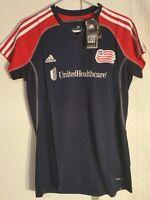 Adidas Women's MLS Jersey New England Revolution Team Navy sz L
