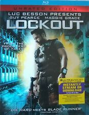 Lockout (Blu-ray Disc, 2012, Unrated, Slip-cover) Guy Pearce
