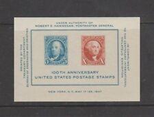 U.S. 1947 CIPEX Souvenir Sheet #948, 2 Stamps, mNH OG Fine