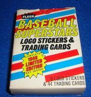 1988 FLEER BASEBALL SUPERSTARS 44 CARD SET