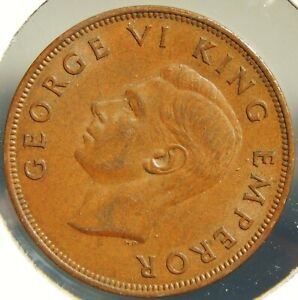 KEY DATE New Zealand 1941 Penny CH UNC BN Excellent Penny Coin ↑UNC Eye Appeal