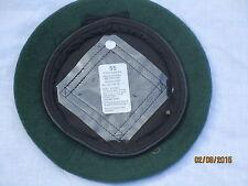 Beret Wool Knitted AGC Green,Adjutant Generals Corps,Barett grün,Gr.55 ,#WP