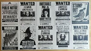 Harry Potter Postcards Set - 10 Cards
