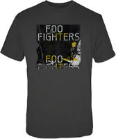 Foo Fighters Box Guitar Mens Grey T-Shirt