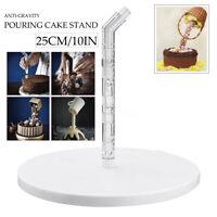 Anti-Gravity Pouring Cake Frame Kit Fondant Decoration Sugar Craft Making Stand