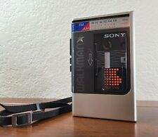 Vintage Sony Walkman WM-F8 Stereo Cassette Player FM/AM Radio Tested & Works