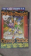 CHEAP TRICK  CONCERT POSTER THEY PLAYED A DIFFERNT ALBUM EACH NITE