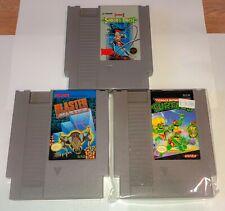 Nintendo NES Castlevania 2 TMNT Ninja Turtles Blaster Master Video Games Lot