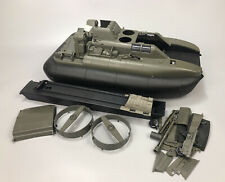 VTG Hasbro 1984 GI JOE KILLER WHALE w/ Stickers Hovercraft Boat Vehicle PARTS