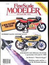 Fine Scale Modeler May/June 1984 Superdetailing Motorcycles EX No ML 010217jhe
