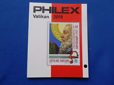 Briefmarken-Katalog  Philex für  Vatikan  Marken 2018  in Farbe