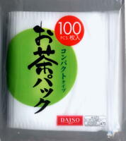 Daiso Empty Tea Bag (100 pcs) Filter Bags for Tea   Made In Japan s7092
