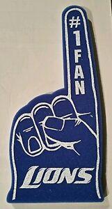 Detroit Lions #1 FAN foam finger