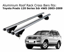 Roof Rack Cross Bars fits Toyota Landcruiser Prado 120 with roof rails 03-09