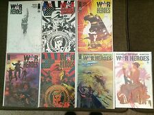 War Heroes 1, 2, 3, + Variants Mark Millar Near Mint Condition Or Better NM+